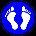 panneau loi des 2 pieds